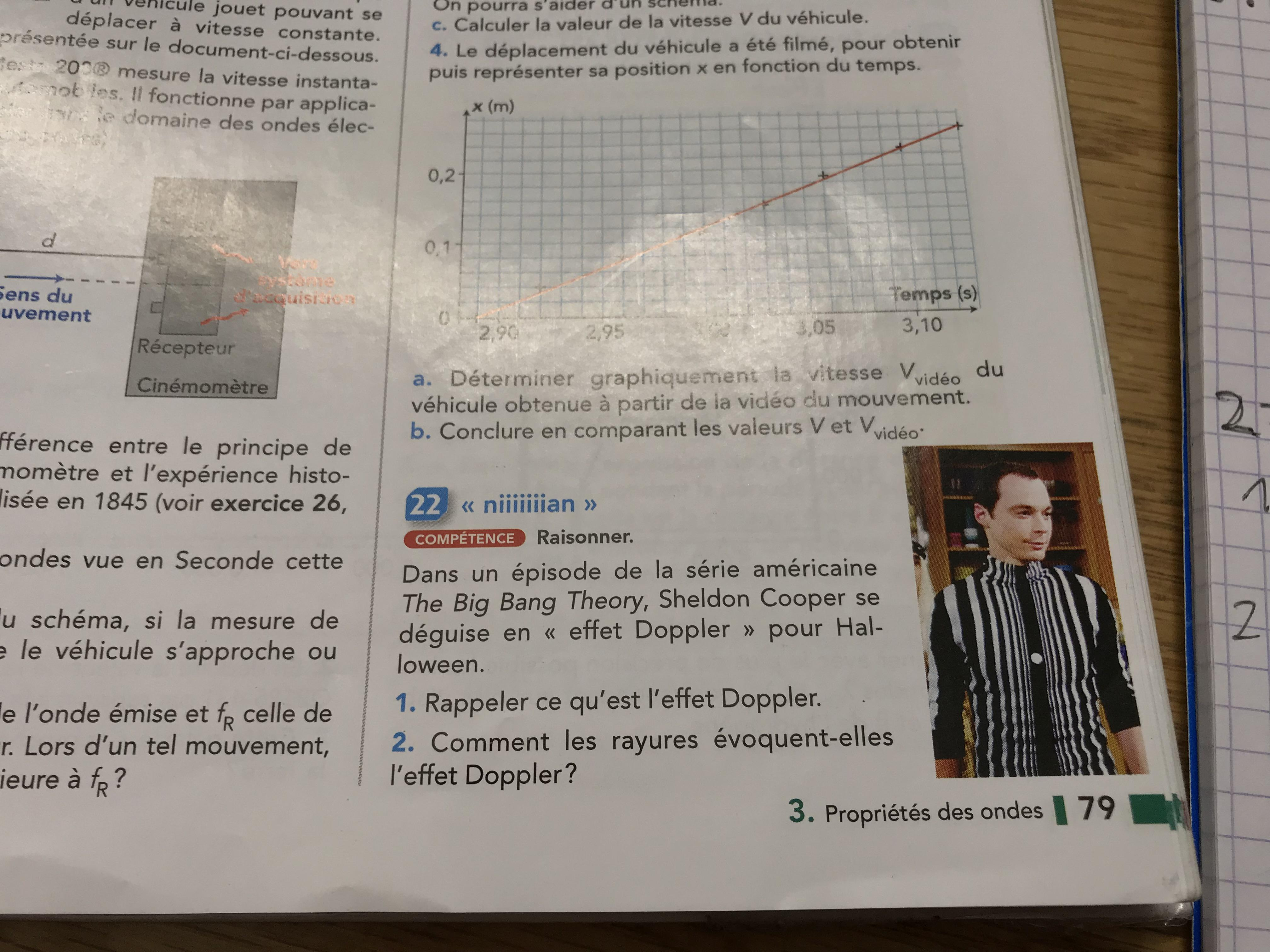 Sheldon Has Made It To My Physics Book Doppler Effect