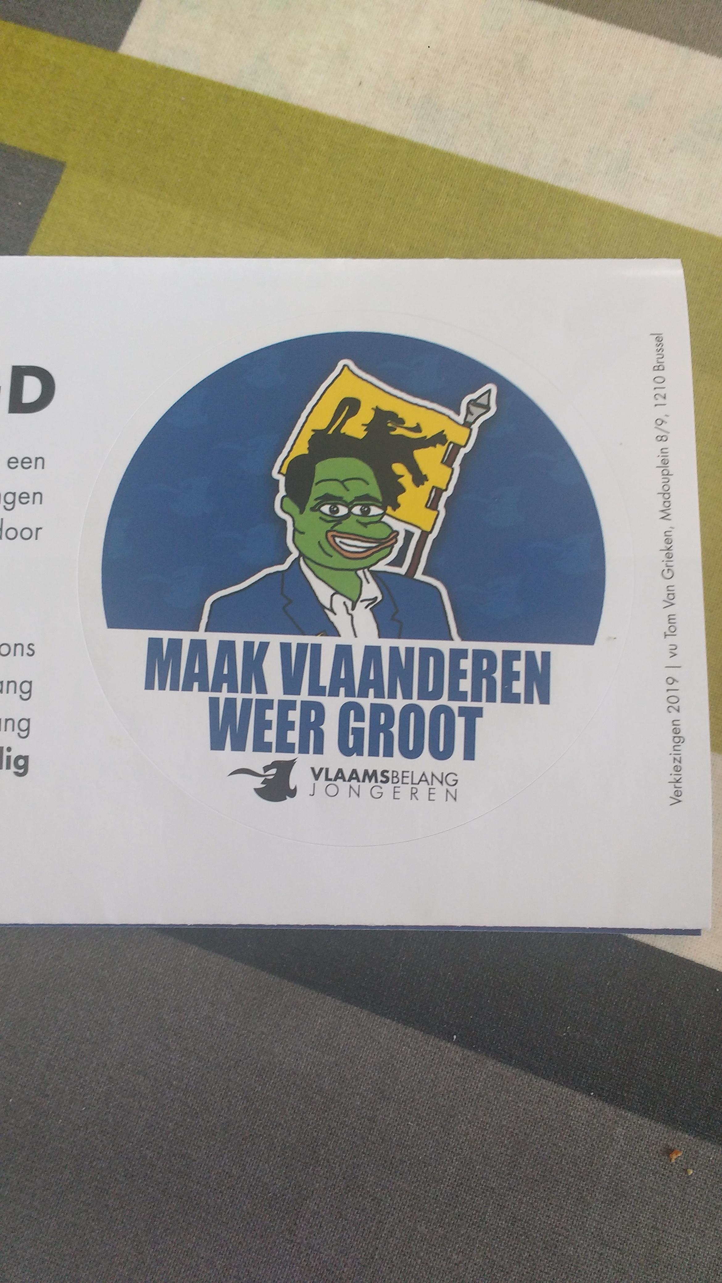 Vlaams Belang Playing The Meme Card Belgium