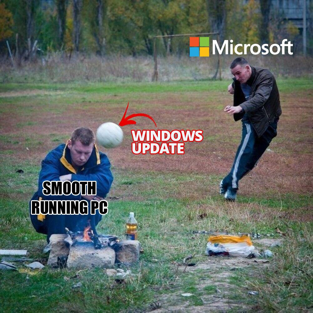 Microsoft Doing What They Do Best Pcmasterrace