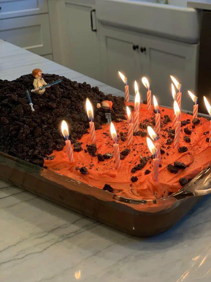 Best Birthday Cake Ever Starwars