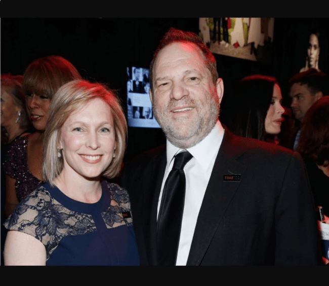 Image result for gillibrand weinstein