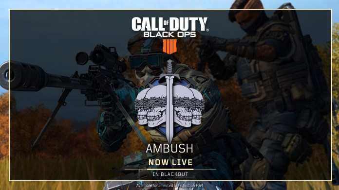 Black Ops 4 1.12 Patch Notes