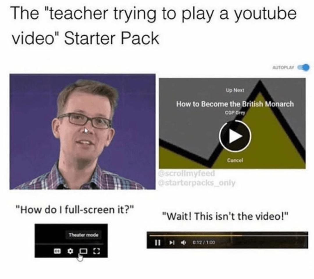 Starter Pack Memes Are Still Going Strong Memes Of The Dank