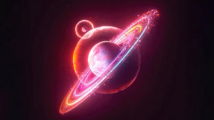 Neon Planet [3840×2160]