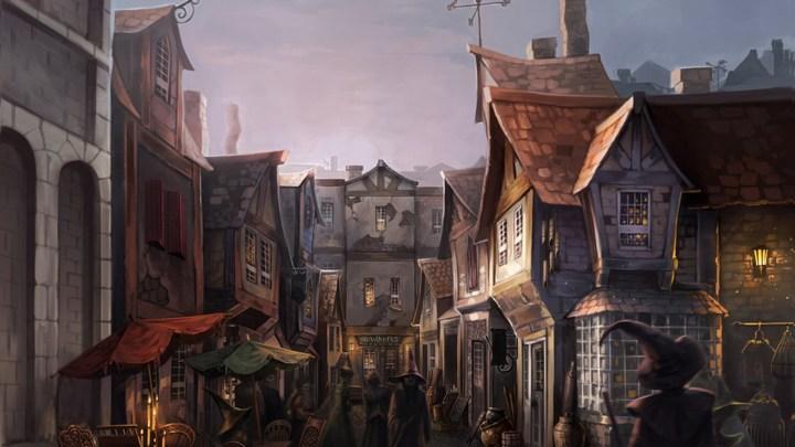 [1920×1080] Diagon Alley