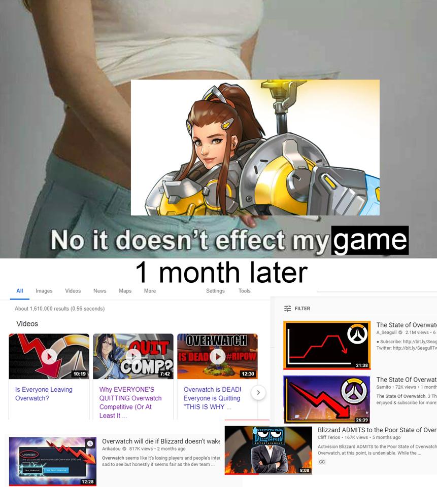 Brigitte Gets Nerfed Overwatch Animated Youtube