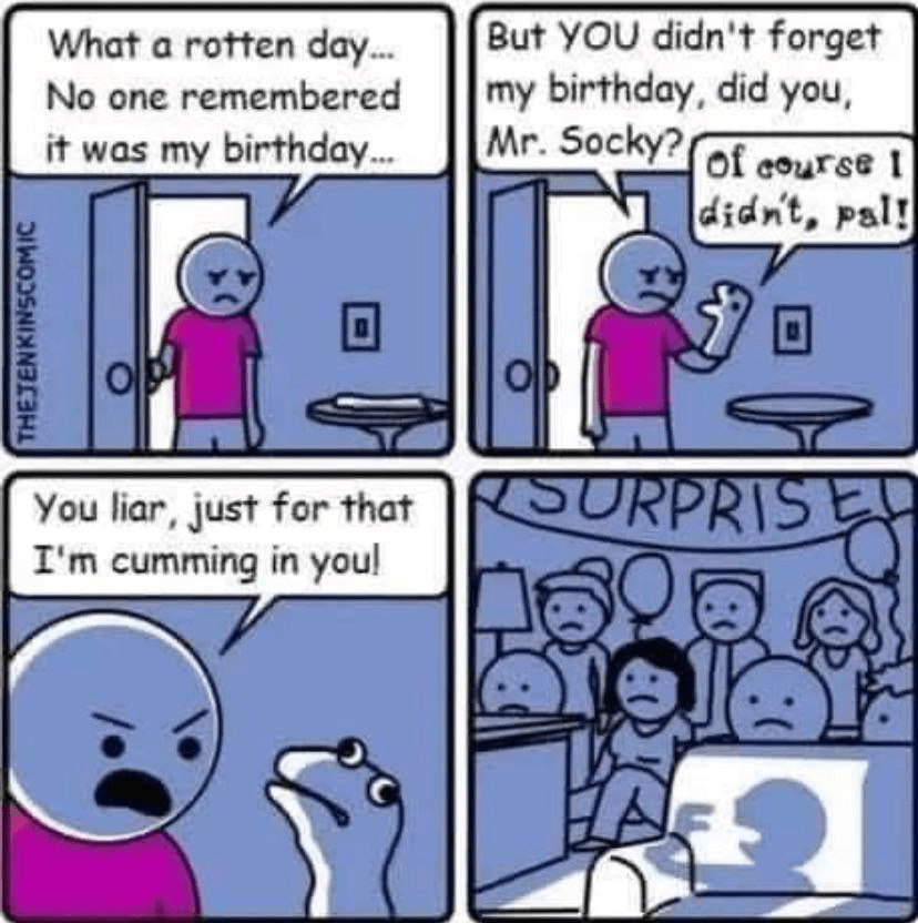 What A Rotten Day No One Remembered It Was My Birthday Hardwarezone Forums