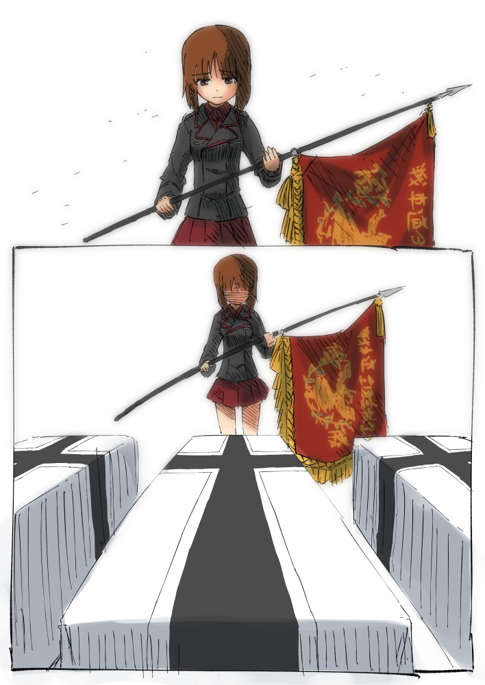 Had Miho Not Saved Her Allies From That Sinking Tank