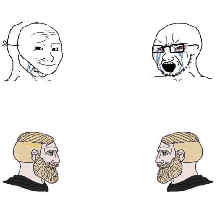 Yes Chad Meme Template Memetemplatesofficial