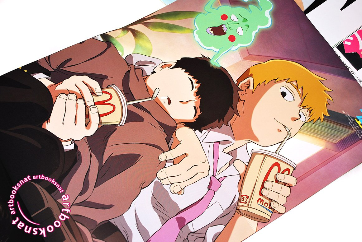 mob psycho 100 ii poster from pash anime