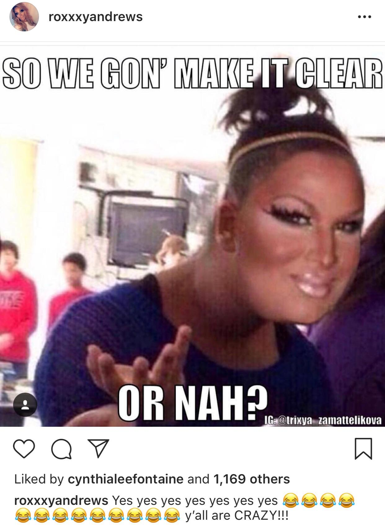 Roxxxy Being The Meme Queen We Thought She Was Rupaulsdragrace