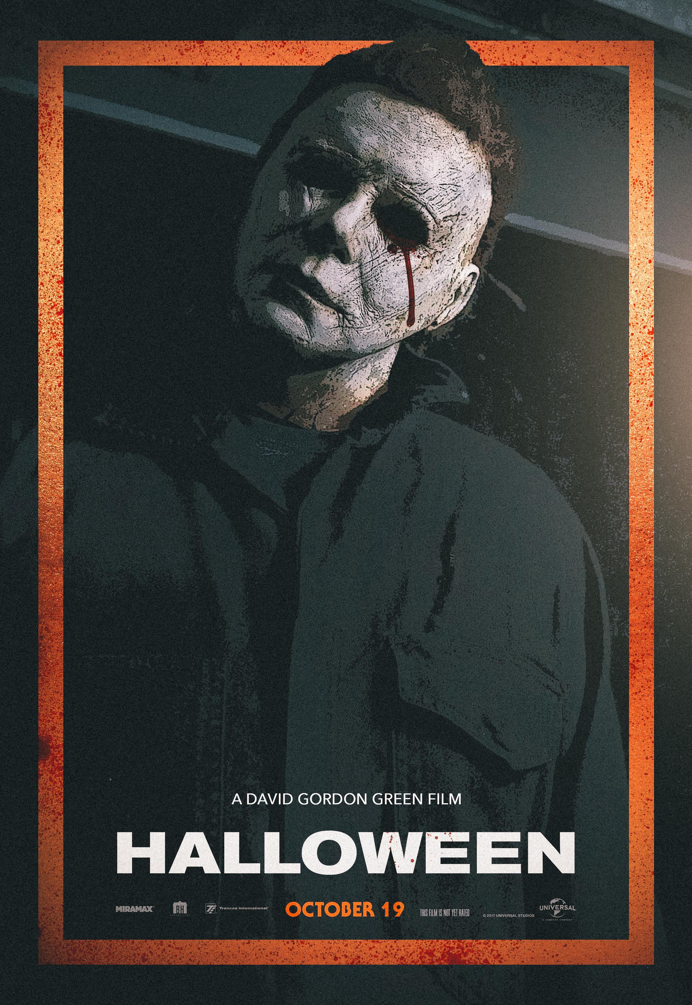 halloween movie poster 2018 movies