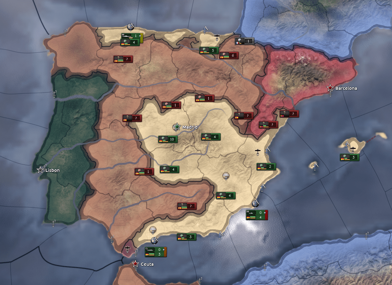 Spanish Civil War Now With Extra Anarchism Hoi4