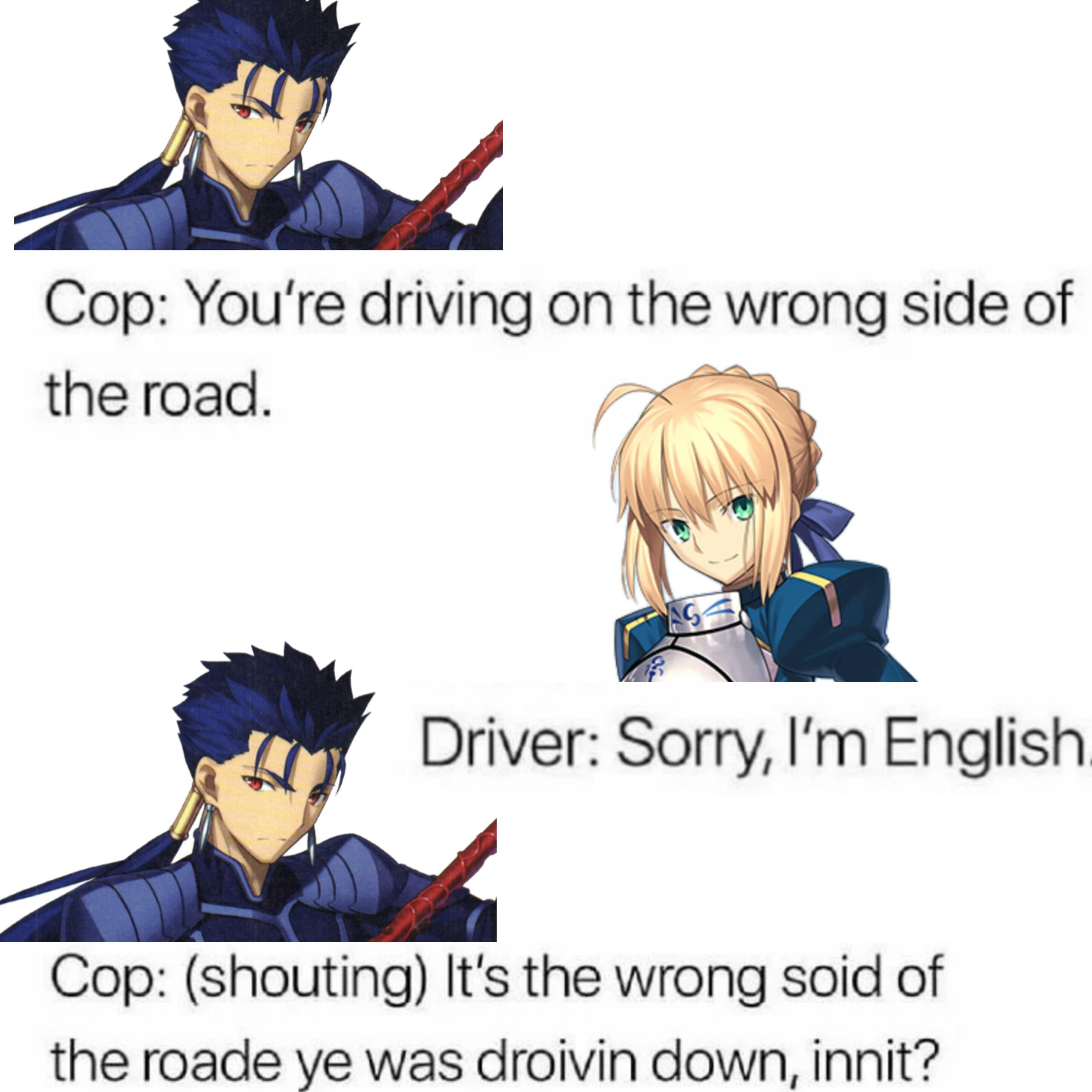 Meme What Your Favorite Fate Says About You Fatestaynight
