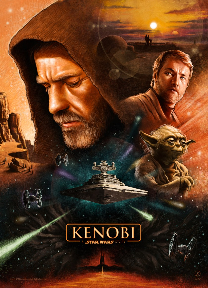 Kenobi: A Star Wars Story poster by Wolfgang LeBlanc: StarWars