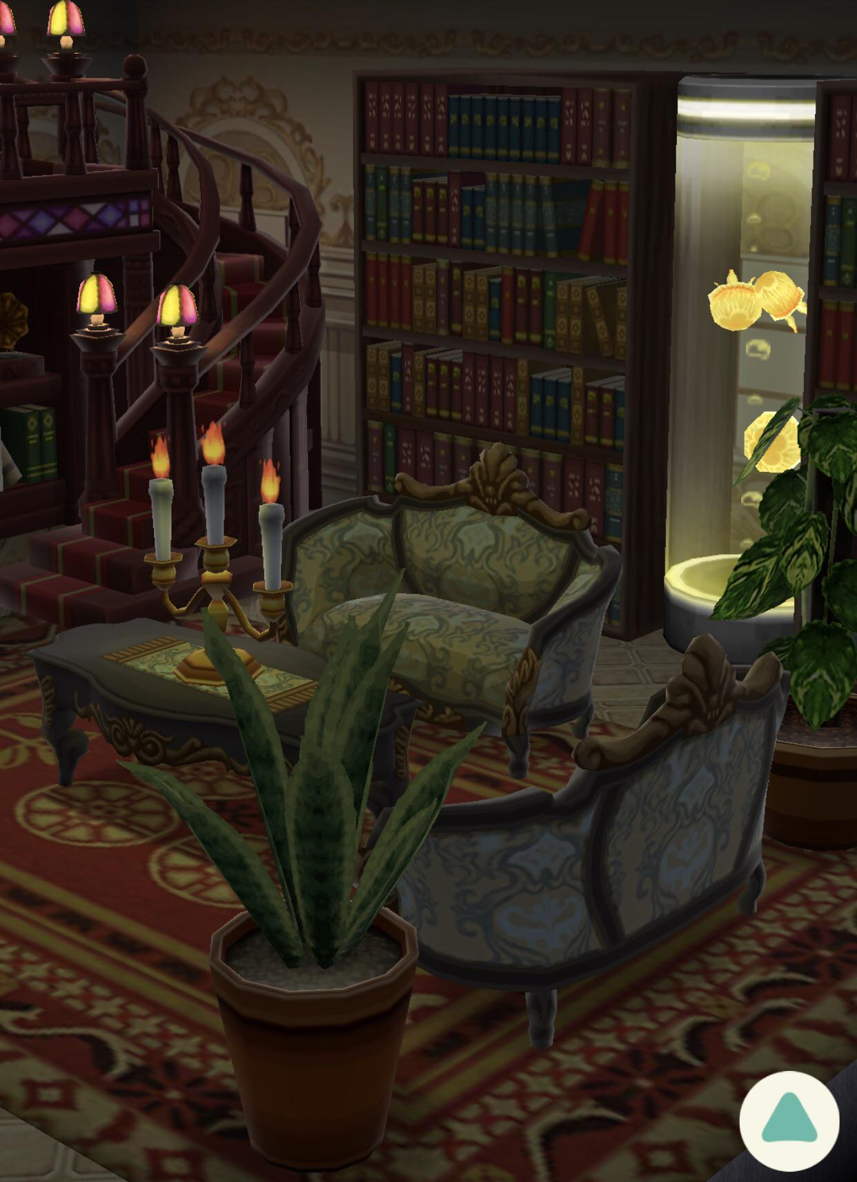 Secret Room Through The Hidden Bookcase Door Acpocketcamp