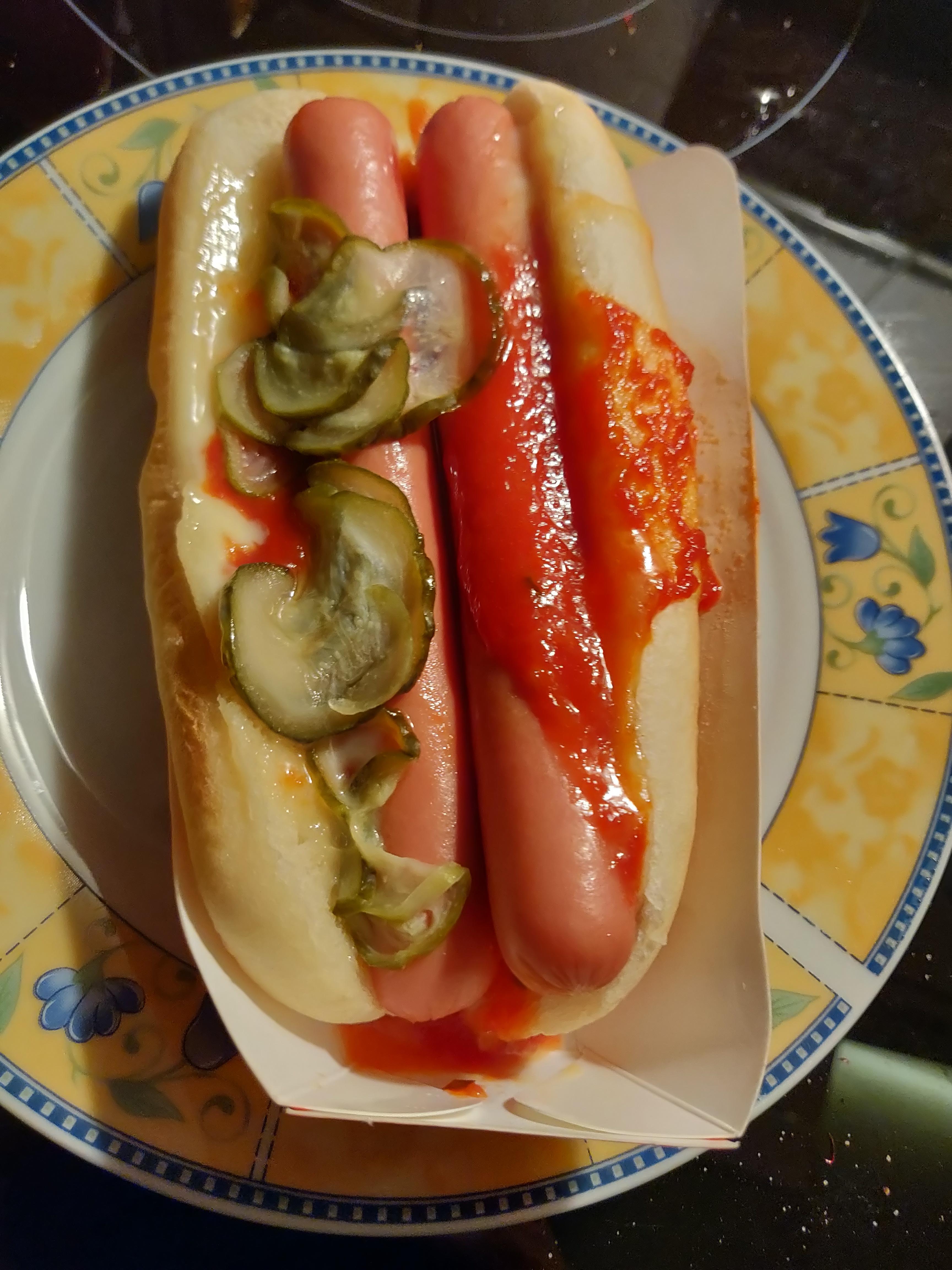double dog microwave hot dog shittyfoodporn
