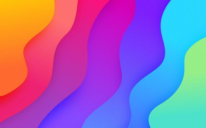 Wavēy | Rainbow by @dizzyup (2880 x 1800)