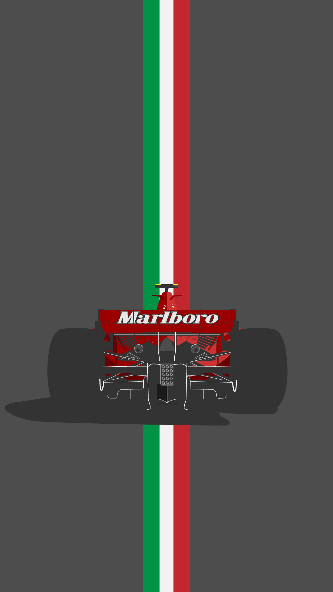 it's a ferrari!! a f2007 phone wallpaper : formula1