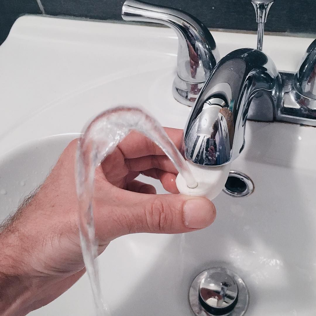 3d printed water fountain faucet