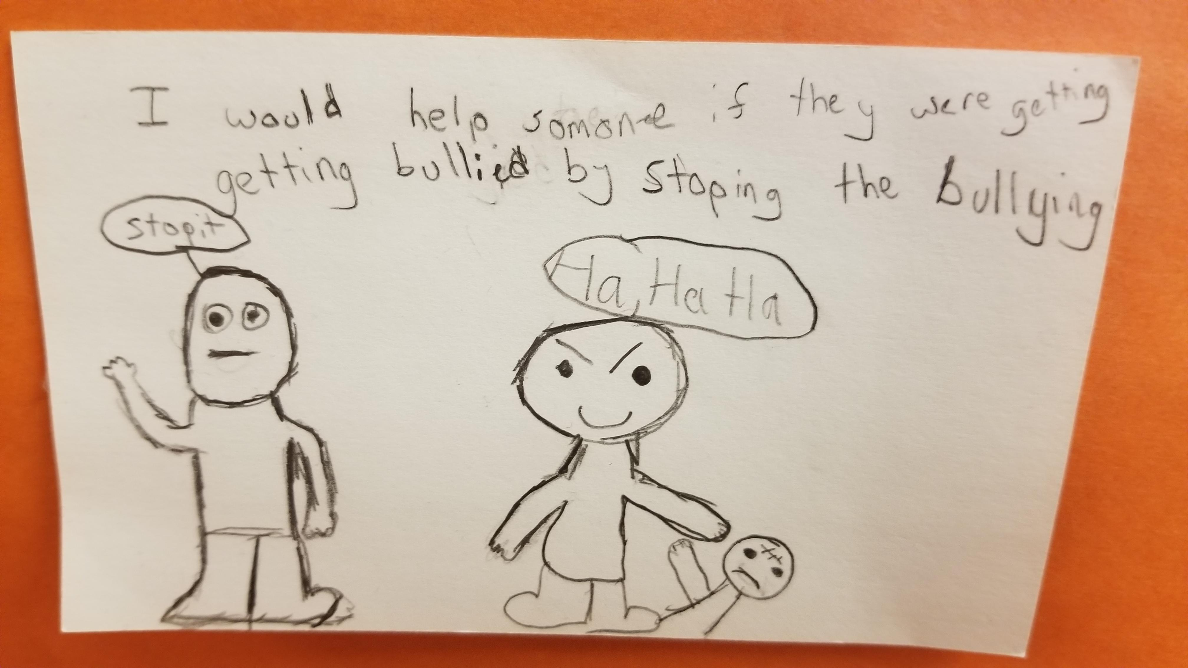To Stop Middle School Bullying Therewasanattempt