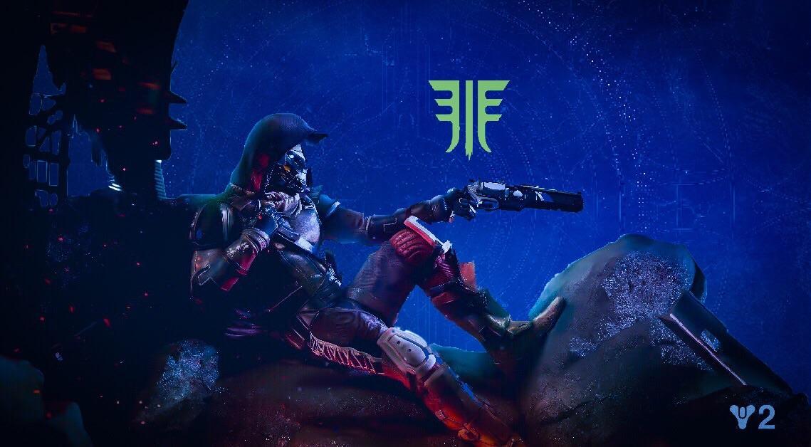 destiny 2 forsaken fan poster oc