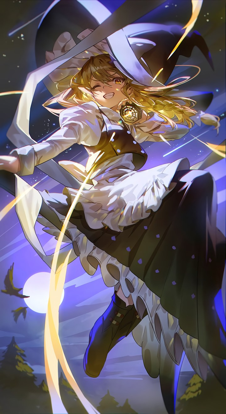 Marisa Kirisame [Touhou Project ] (2640×4840)