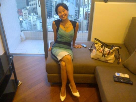 Korean Milf In Her Hotel Room