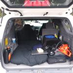 Extremely Cheap Minimalistic Camper Setup In Toyota 4runner I Lived In It Quite Comfortably For 27 Days While Doing Hurricane Michael Cleanup Between Seasonal Jobs Will Build Platform And Road Trip From Florida