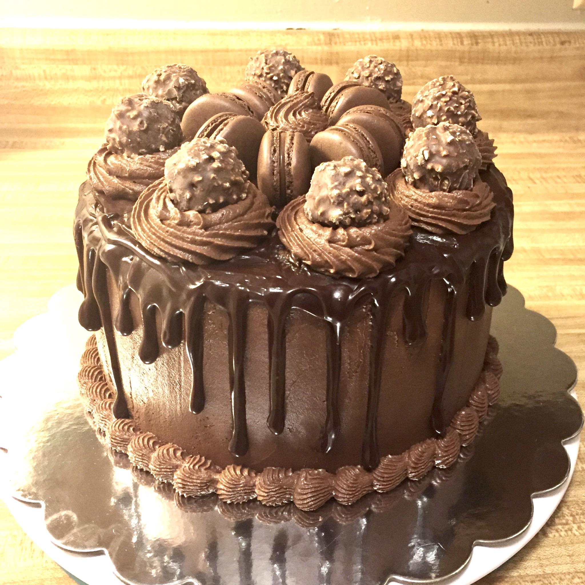 Nutella Cake For Grandma S 80th Birthday Baking
