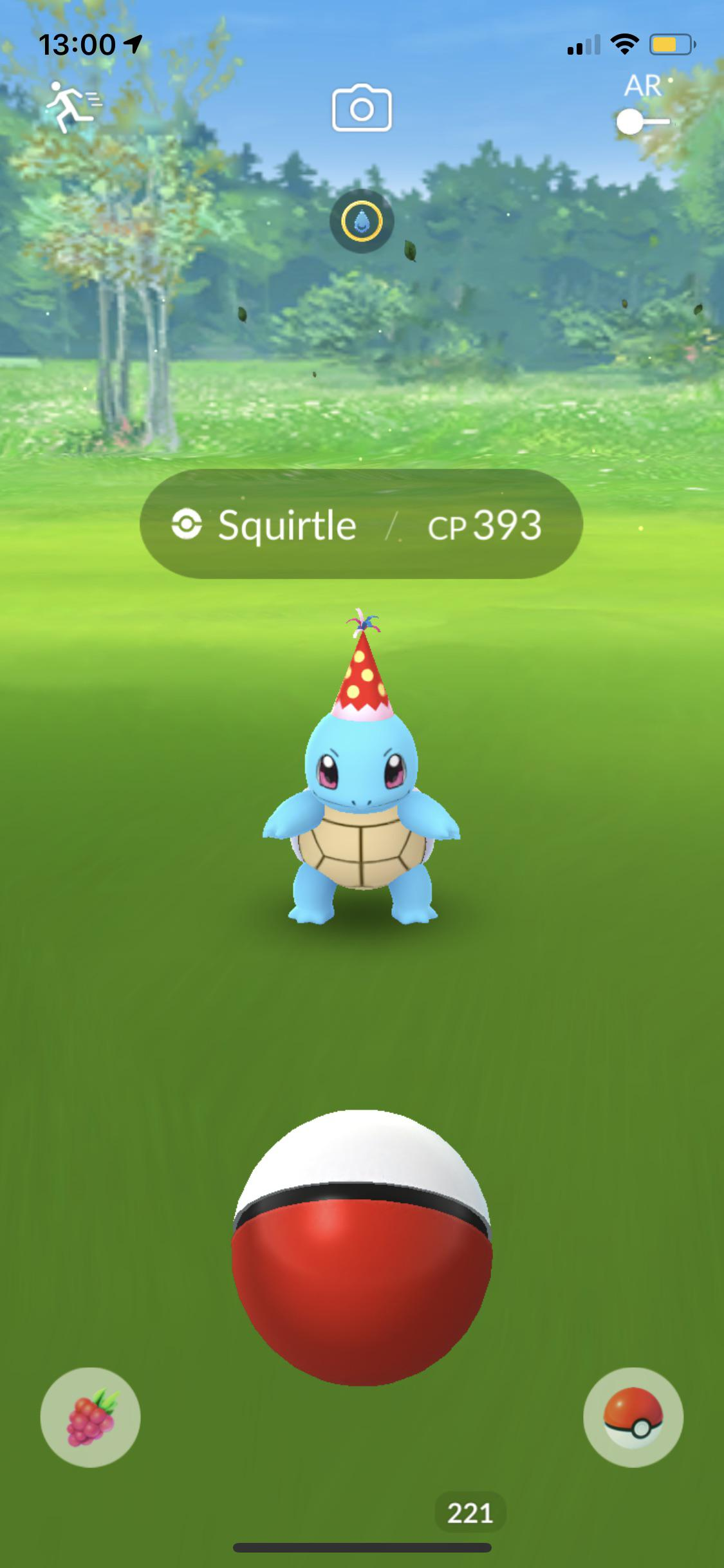 Kanto Starters Field Research Rewards With Party Hat After Event Started Thesilphroad