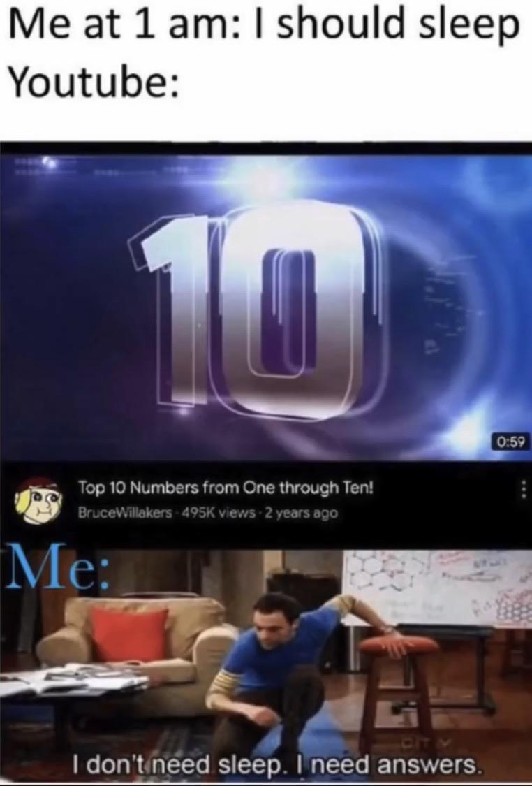 Top 10 Numbers From One Through Ten Memes