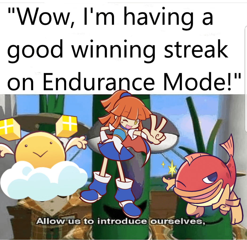 Enjoy My Dumb Puyo Meme Puyopuyotetris