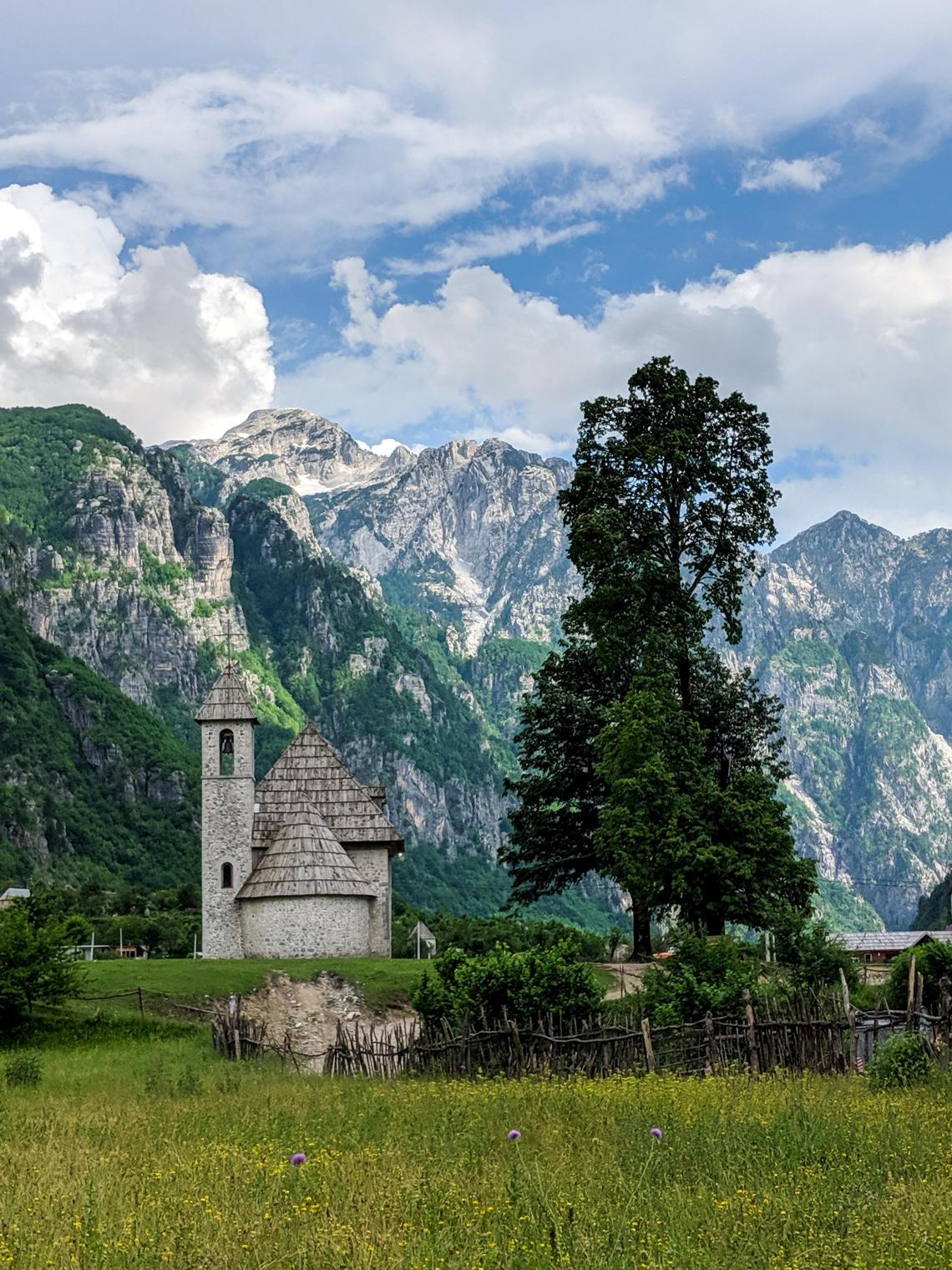 One of the most isolated villages in Albania.Theth National Park, Shkoder, Albania : hiking