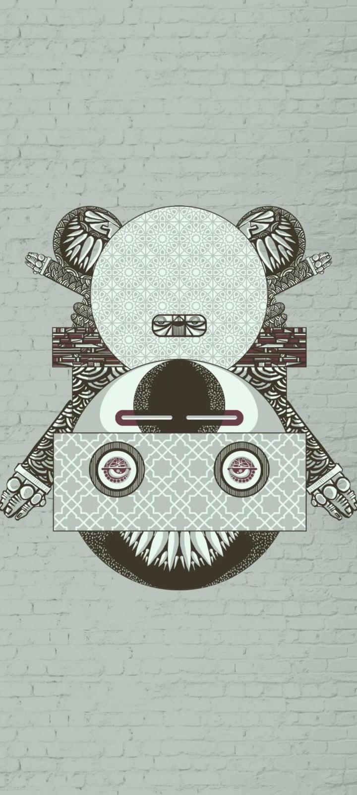 Ancient Bot Wallpaper (1080×2400)