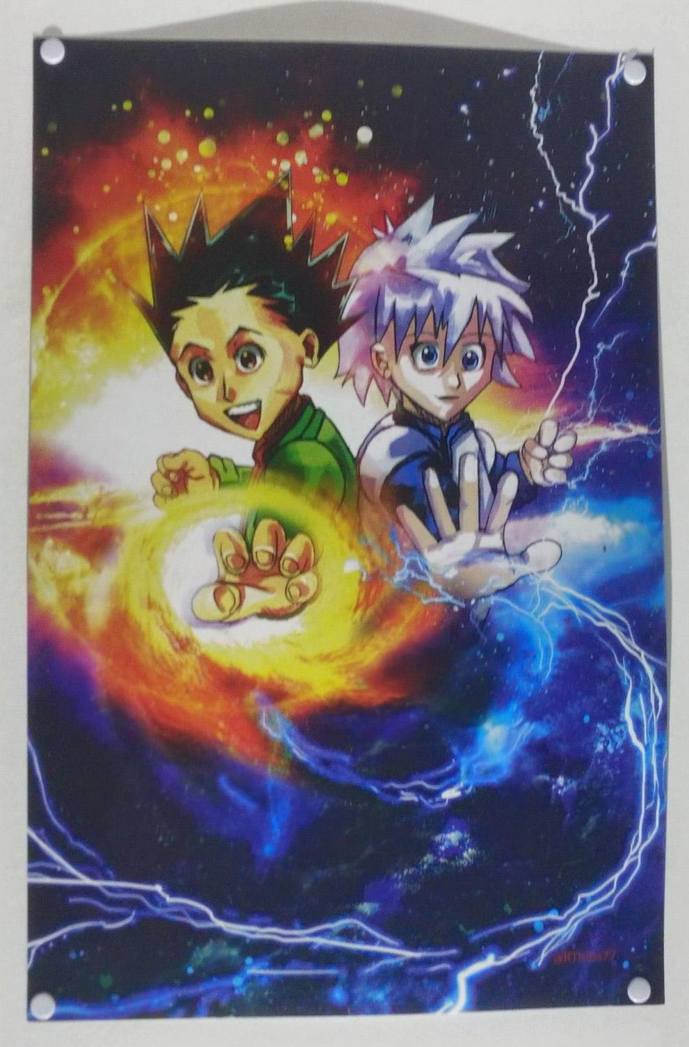 this hunter x hunter poster crappydesign