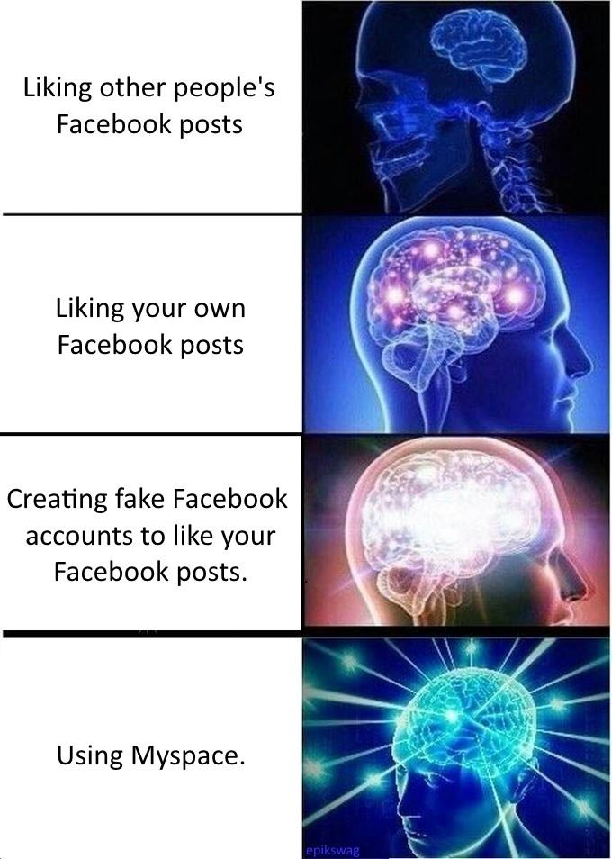 Liking Your Own Facebook Posts Memes