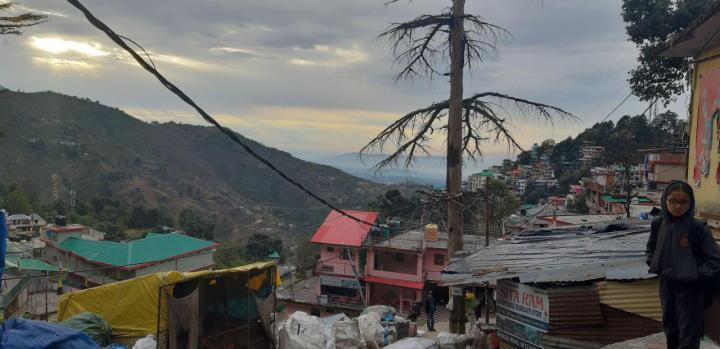 Morning in Dharamshala