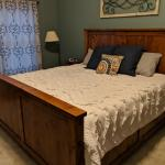 My King Size Bed Build Link To Detailed Instructions In Comments Woodworking