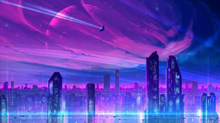 neonCity by JoeyJazz [2560×1440]