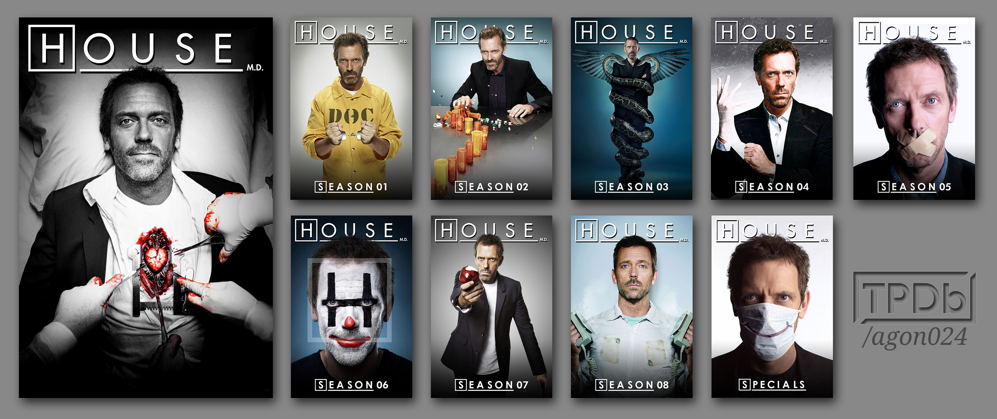 house series posters titled seasons