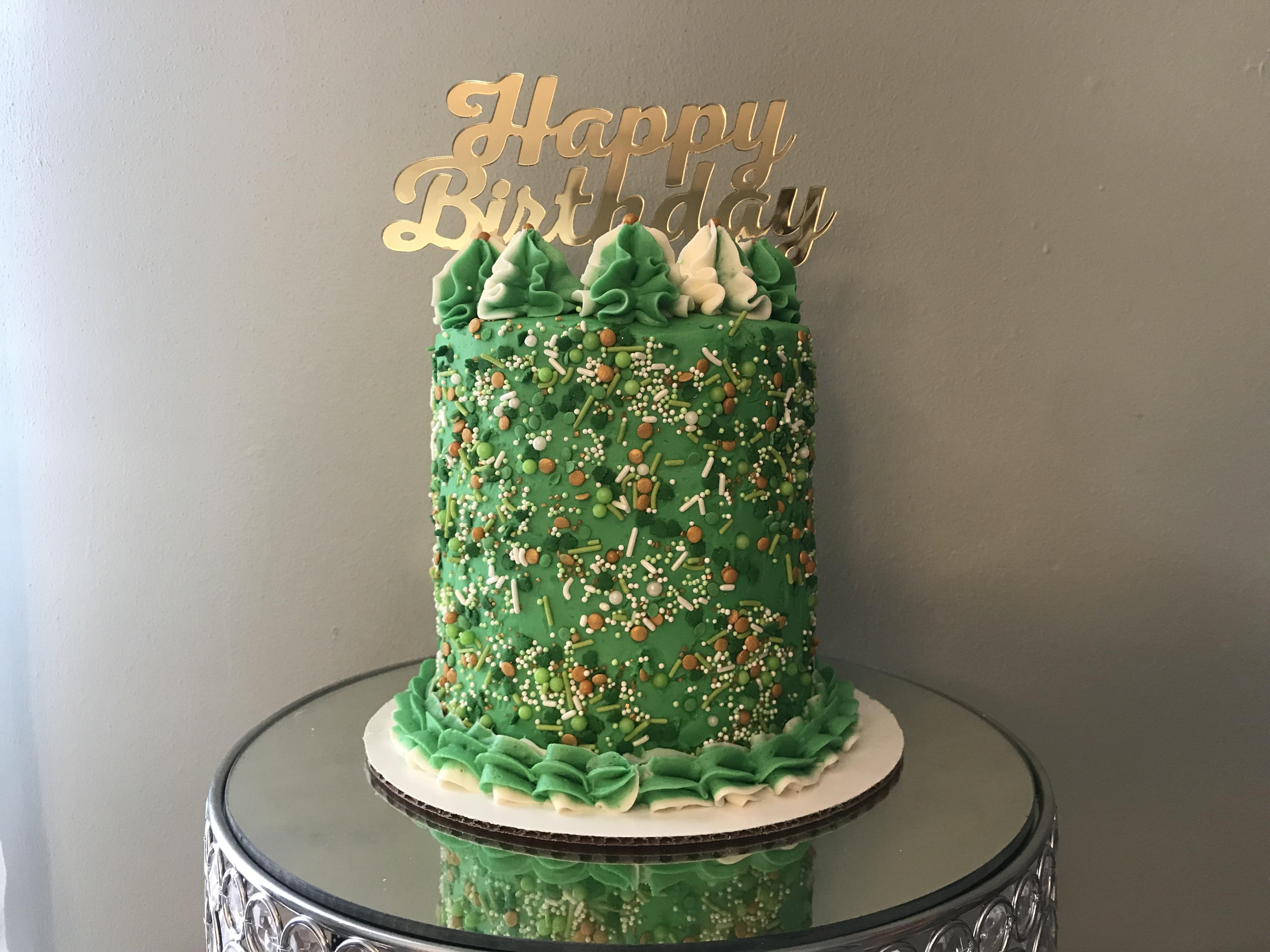 St Patrick S Day Birthday Cake Foodporn