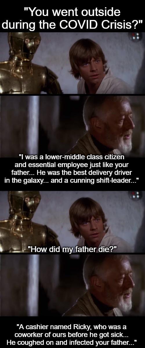 Obi Wan Relives 2020 Starwarsmemes