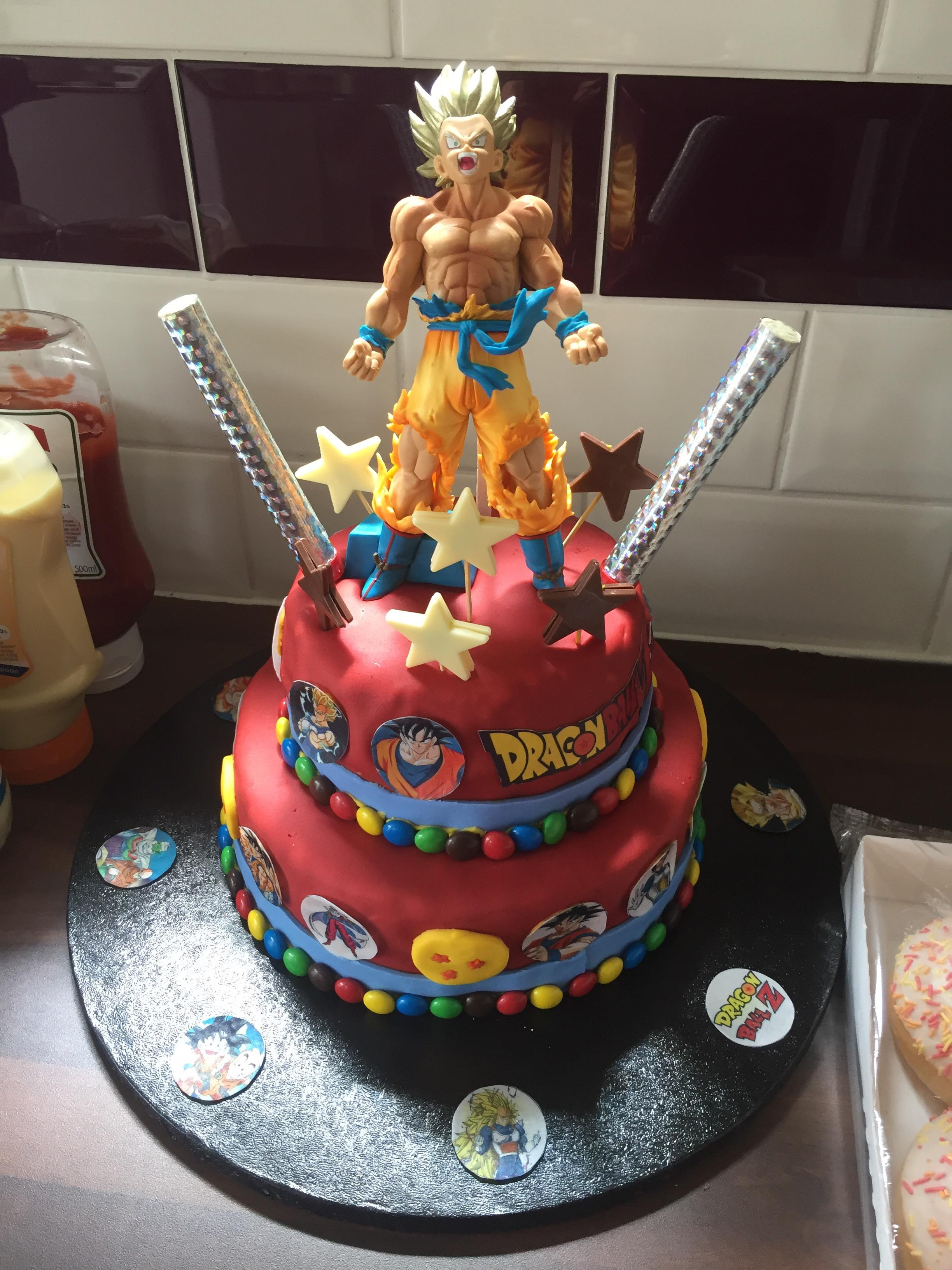 My Brothers Dbz Birthday Cake Happy Birthday Denny Dbz