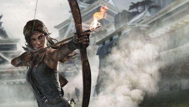 Lara Croft(3840 x 2160)