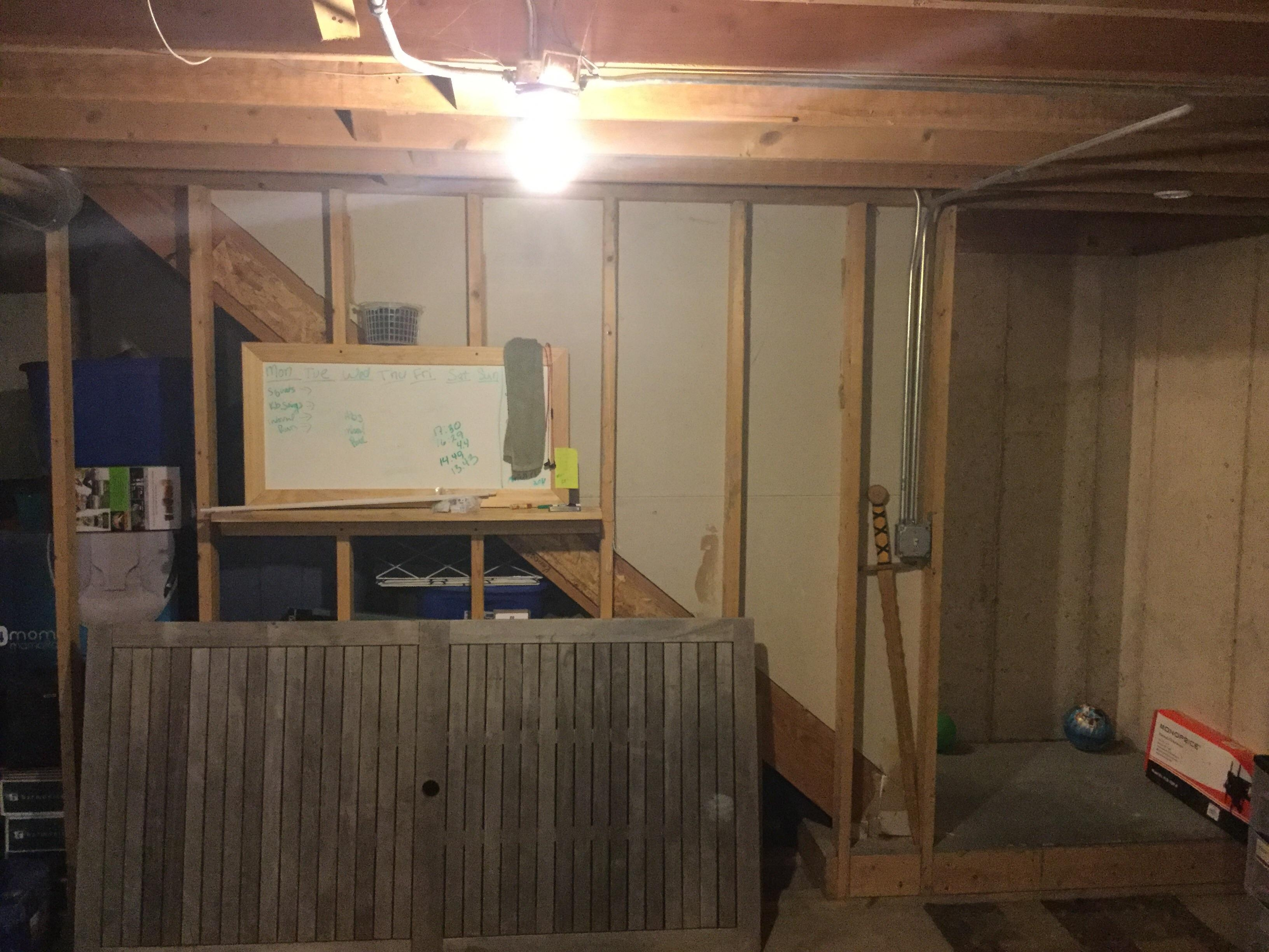 Want To Open Up Basement Stairs How Many Of These Studs Can Be | Floor Opening For Basement Stairs | L Shaped | Foyer | Both Side | Interior | 8 Foot Ceiling