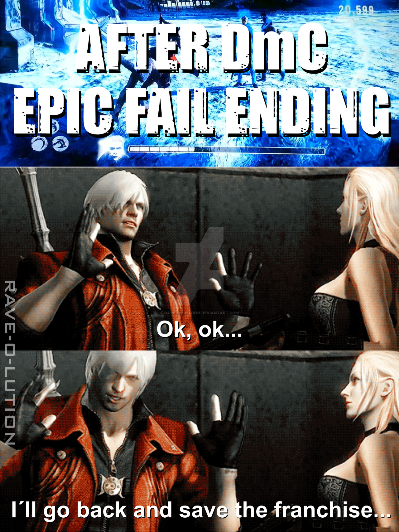 Dmc Devil May Cry Fans Not Evil Enough The Ultimate Evil