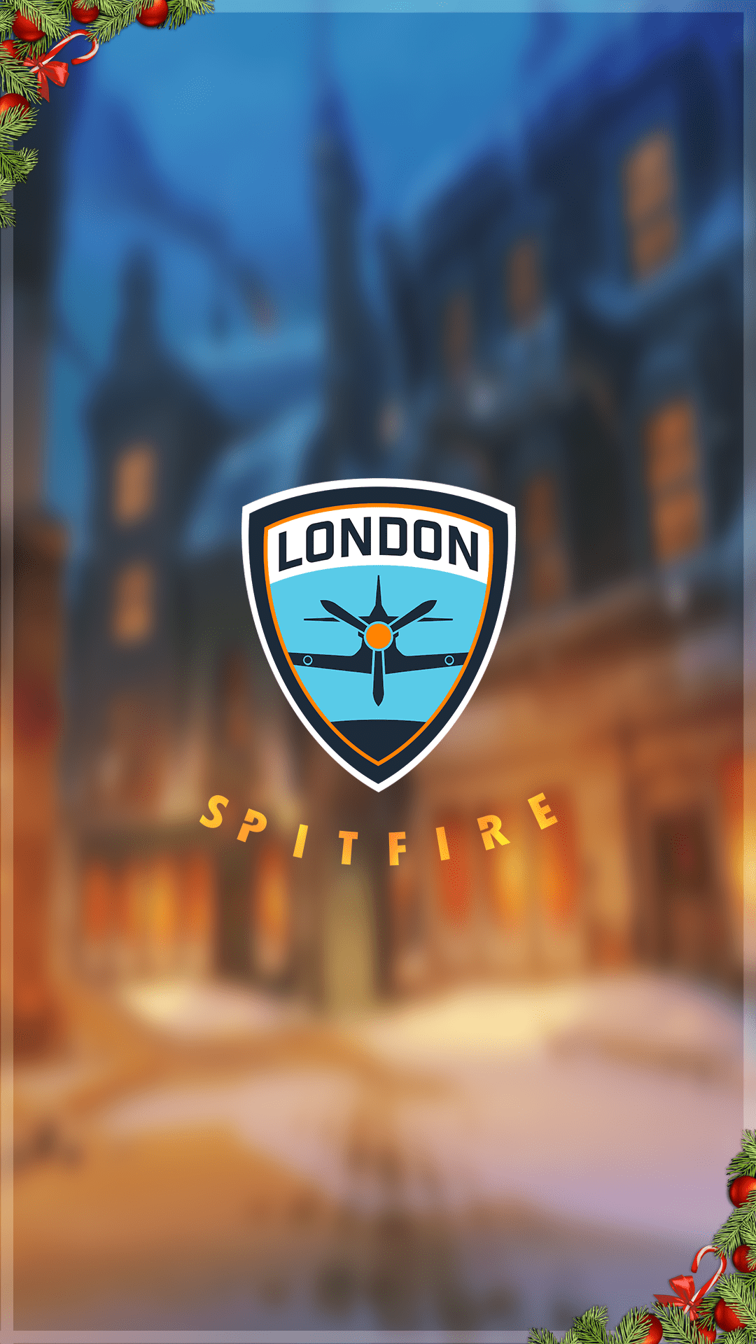 I Made A Festive Phone Wallpaper For Spitfire D