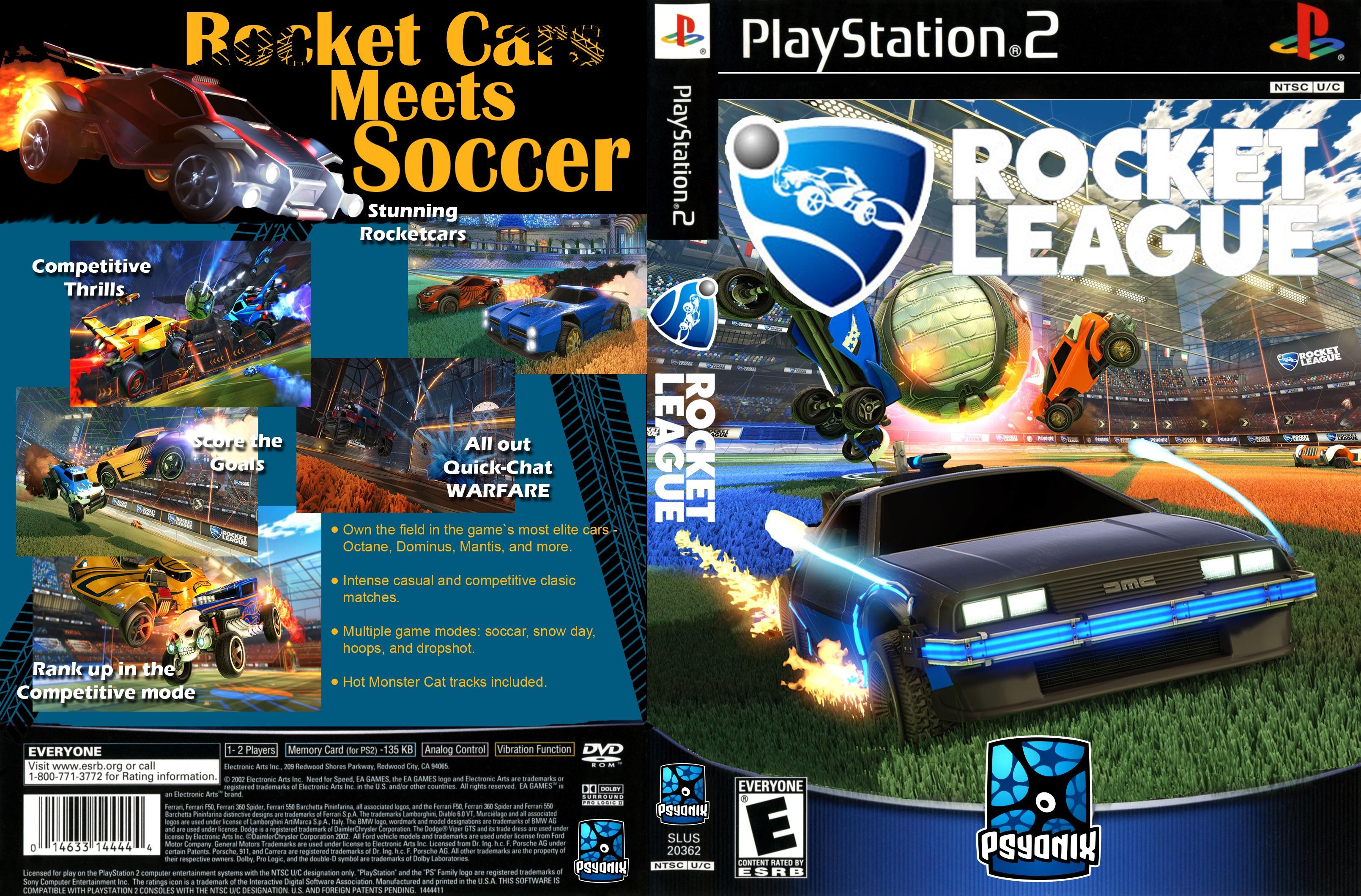 I recreated one of my favorite ps2 games  box art with rocket league     IMAGEI recreated one of my favorite ps2 games  box art with rocket league