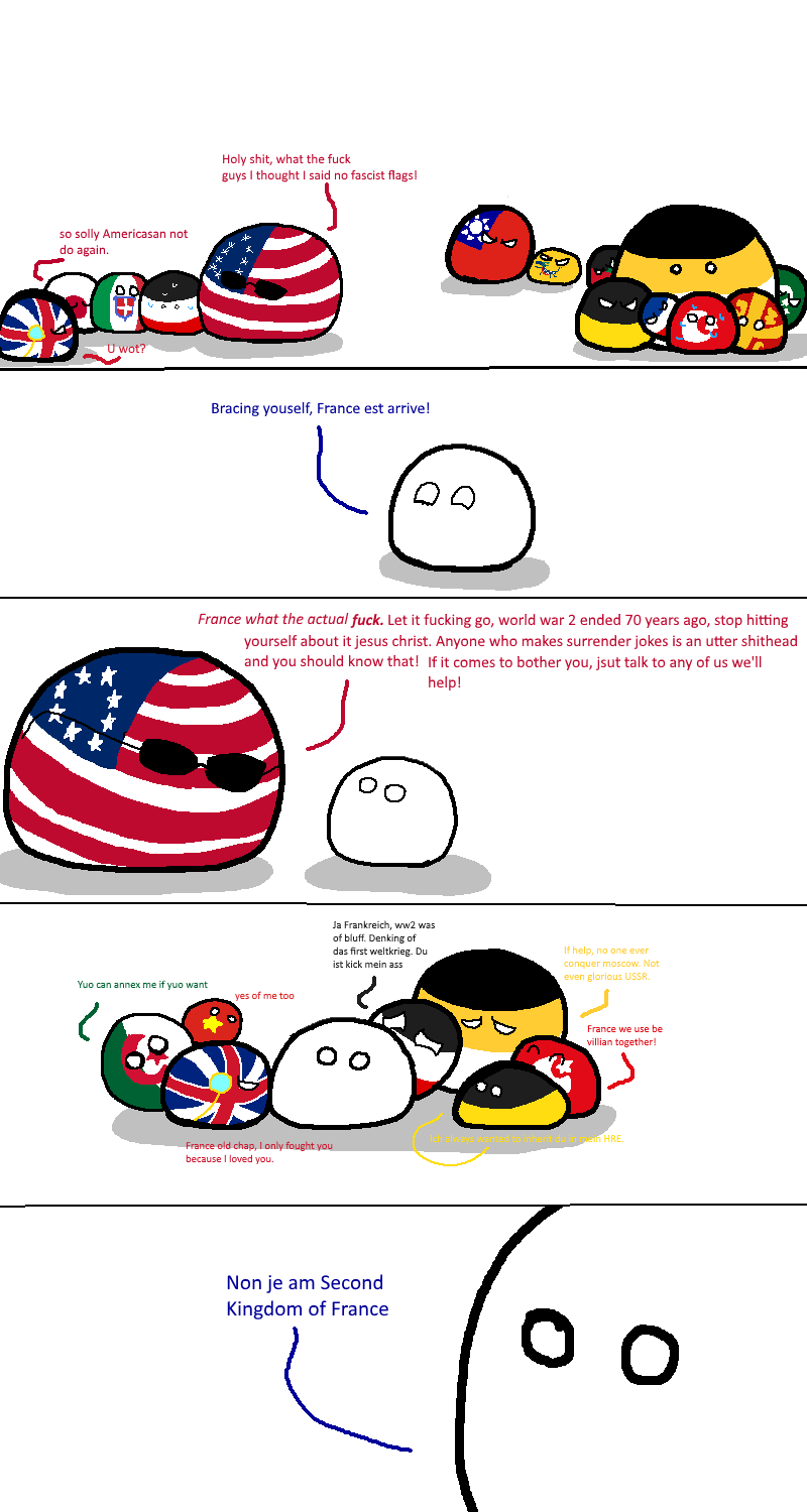 The Modern History Of France In Countryballs Youtube